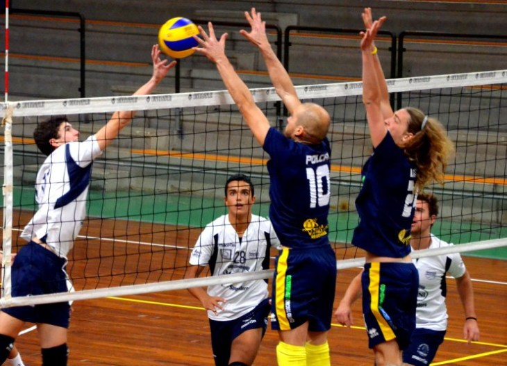 SS Pallaovlo New Volley foto d'archivio