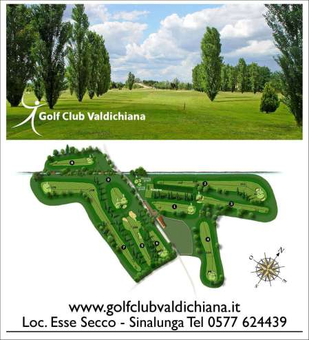 Valdichiana golf percorso