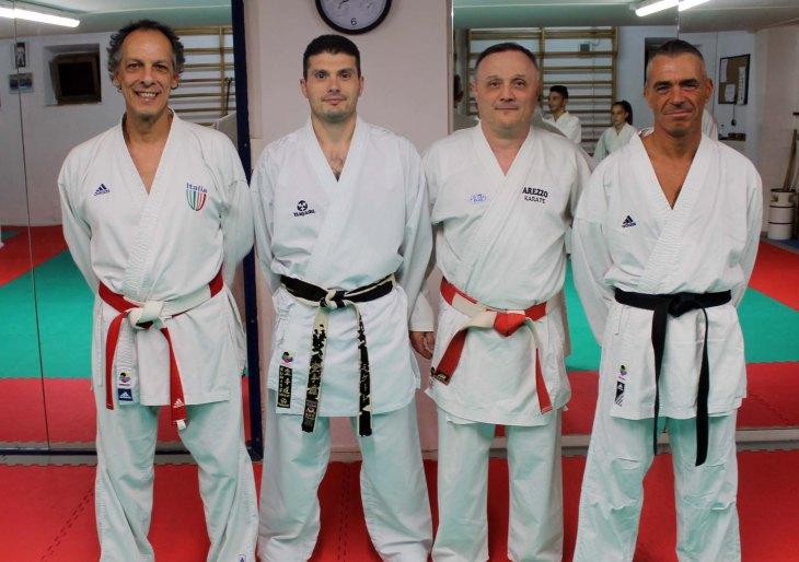 Arezzo Karate - Staff tecnico