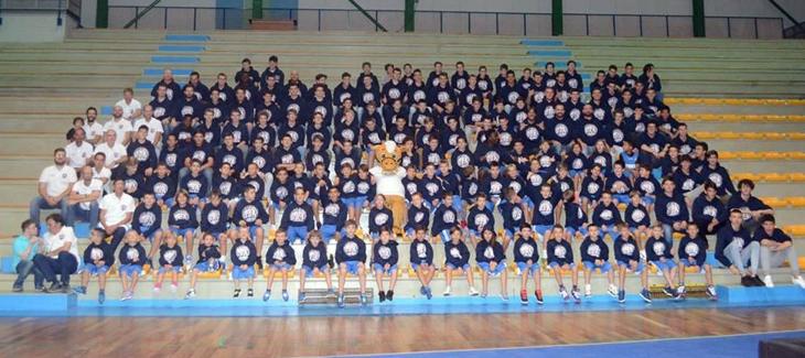 Scuola Basket Arezzo - Presentazione squadre 2018-2019 (1)