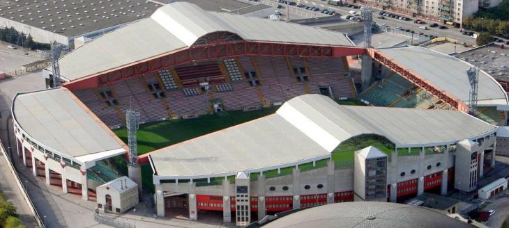 Triestina Stadio Nereo Rocco