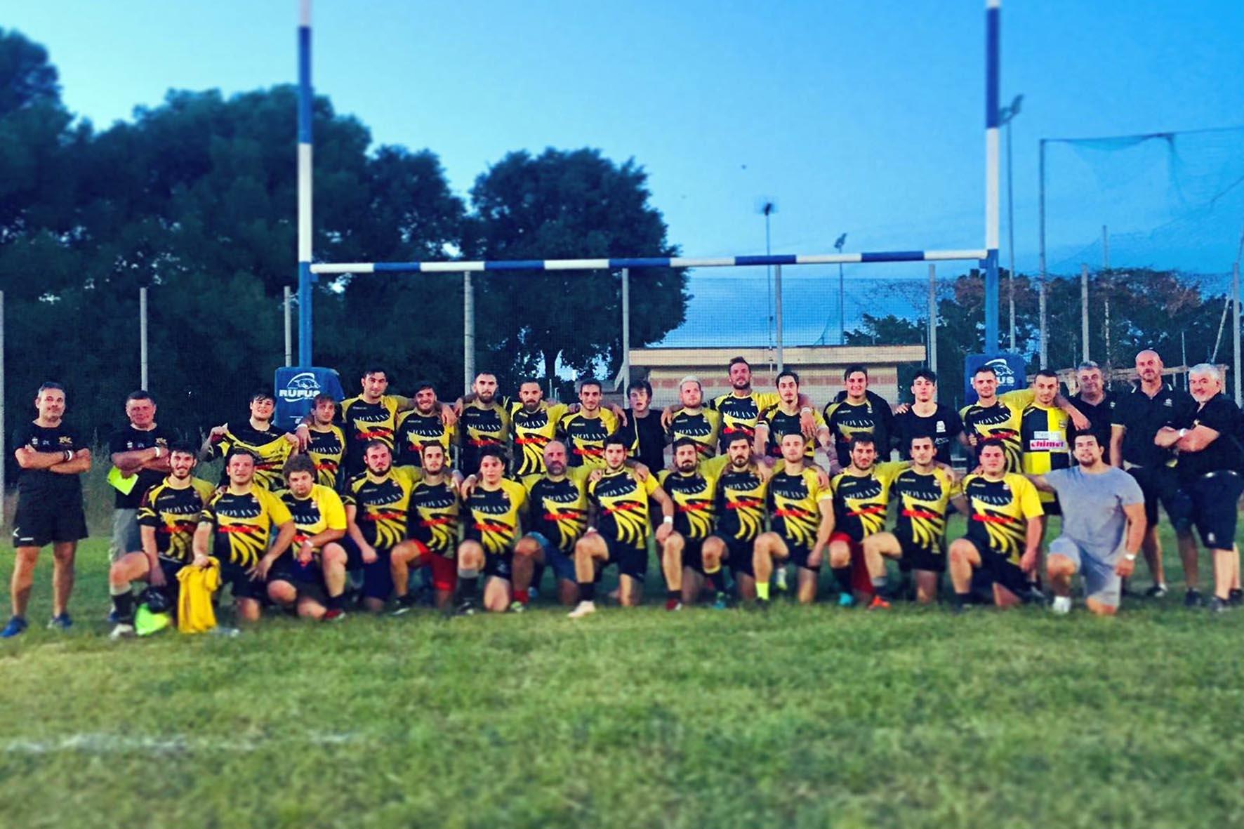 Union Rugby Arezzo - Foto di squadra 2019-2020