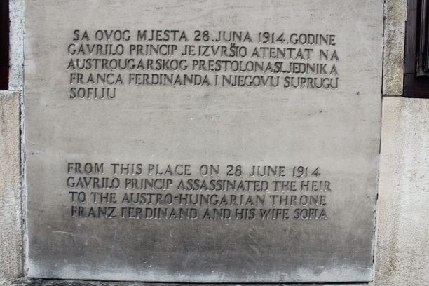 Sarajevo Gavrilo Princip