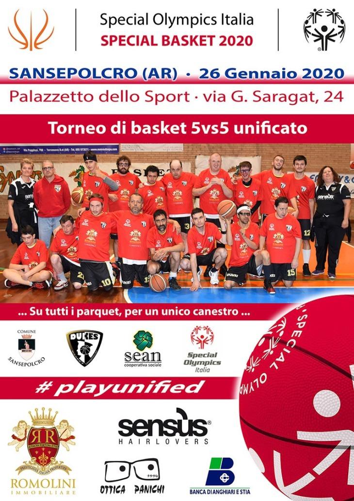 Torneo Special Olympics 26 gennaio 2020