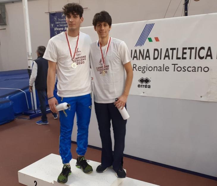 Alga Atletica Arezzo - Filippo Bruschi a destra