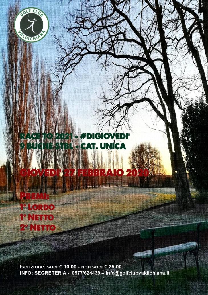 DIGIOVEDI 27-02-20 Valdichiana