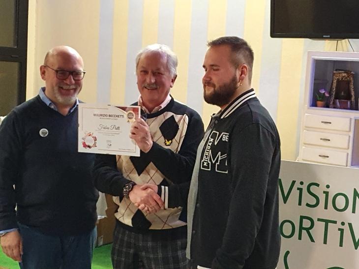 Divisione Sportiva Premio a Fabio Patti