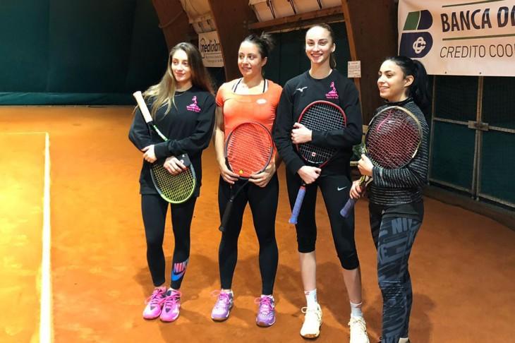 Valtiberina Tennis Sport - Serie D2 femminile con Elisabetta Cocciaretto